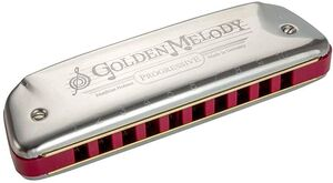 ARMONICA HOHNER GOLDEN MELODY 542/20C