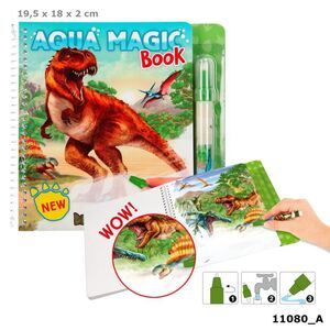 DINO WORLD AQUA MAGIC BOOK 11080