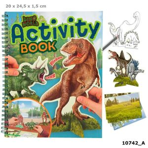 DINO WORLD ACTIVITY BOOK 10742