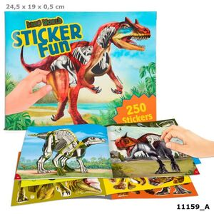 DINO WORLD STICKER FUN 11159