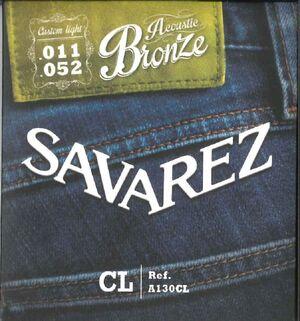 SAVAREZ ACUSTICA A130CL BRONCE 011-052