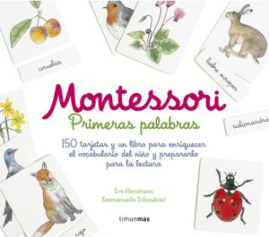 MONTESSORI. PRIMERAS PALABRAS