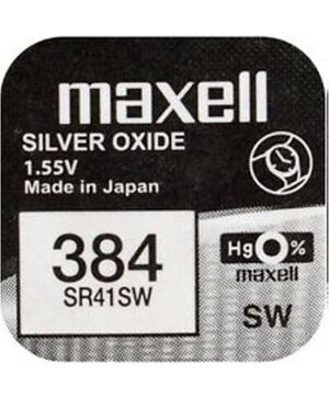 PILAS 384 SR41SW MAXELL