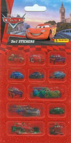 STICKERS CARS 2 EN 1
