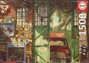PUZZLE 1500 OLD GARAGE EDUCA