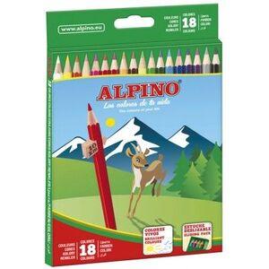 LAPICES 18 COLORES ALPINO