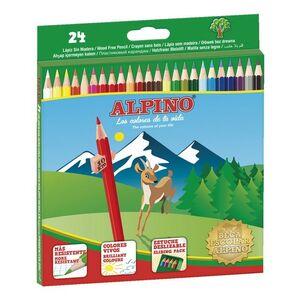 LAPICES 24 COLORES ALPINO