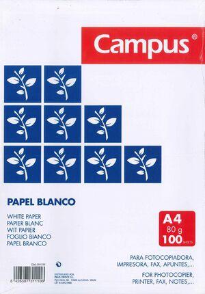 PAPEL PLUS OFFICE A4 80GR 100 HOJAS