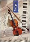 BLOCK MUSICA 1/4 20 HOJAS CAMPUS