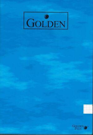 LIBRETA 4MM A4 50 HOJAS 70GR GOLDEN POESSA