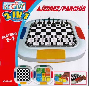 AJEDREZ - PARCHIS KE GUAY