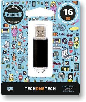 PEN DRIVE 16GB USB 2.0 NEGRO