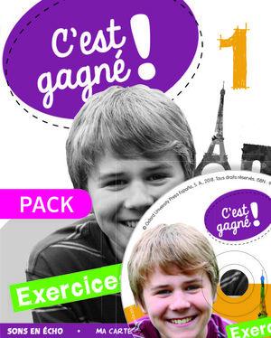 C'EST GAGNÉ! 1. EXERCICES + CD-AUDIO
