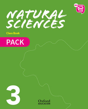 NEW THINK DO LEARN NATURAL SCIENCES 3. CLASS BOOK PACK