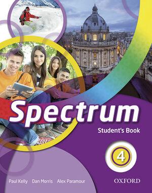 SPECTRUM 4. STUDENT'S BOOK