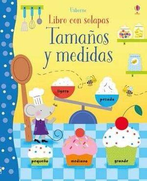 TAMAÑOS Y MEDIDAS