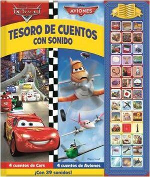 TESORO DE CUENTOS CON SONIDOS CARS Y AVIONES SD TREASURY