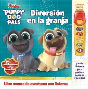 DIVERSION EN LA GRANJA. LIBRO CON LINTERNA PUPPY DOG PALS. FAB