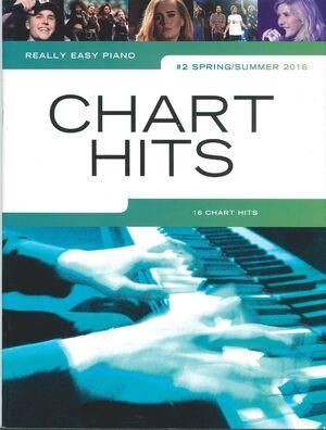 CHART HITS REALLY EASY PIANO