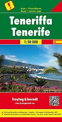 MAPA TENERIFE FREYTAG 1:50.000