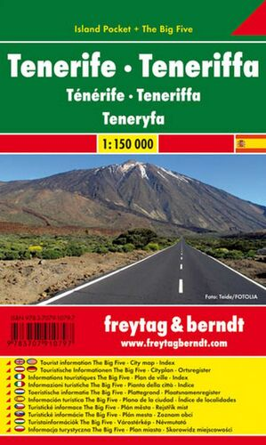 TENERIFE ISLAND POCKET 1:150.000