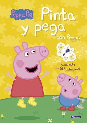 PINTA Y PEGA CON PEPPA (PEPPA PIG. ACTIVIDADES)