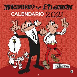 CALENDARIO 2021 MORTADELO Y FILEMON