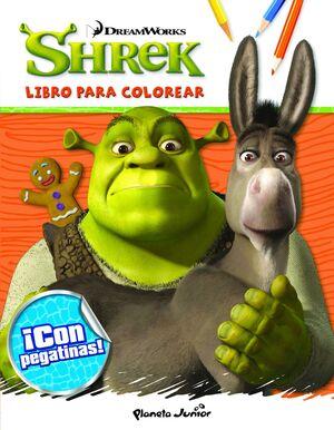 SHREK. LIBRO PARA COLOREAR