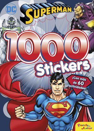 SUPERMAN. 1000 STICKERS