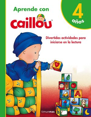 APRENDE CON CAILLOU 4 AÑOS