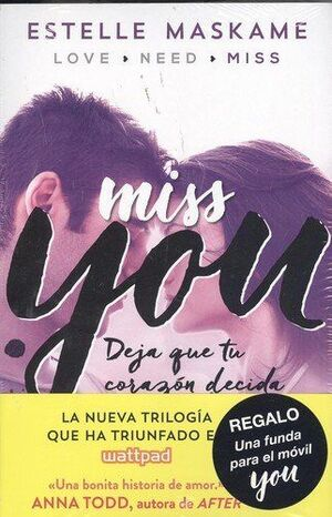 YOU 3 MISS YOU Y FUNDA MOVIL IMPERMEABLE