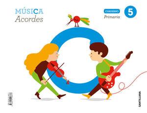 5PRI CUAD MUSICA ACORDES ED19