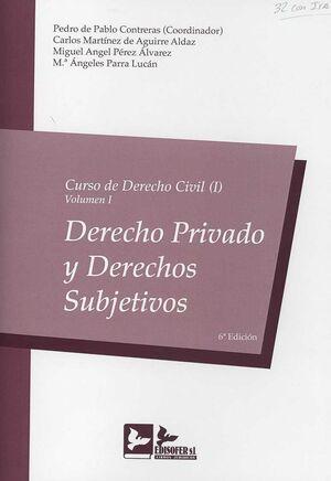 CURSO DERECHO CIVIL I - VOLUMEN I