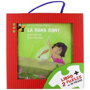 CAJA LEO Y JUEGO: LA RANA RONY