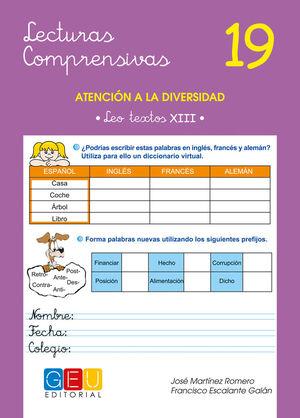 LECTURAS COMPRENSIVAS 19