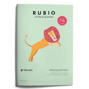 RUBIO VACACIONES 4º PRIMARIA