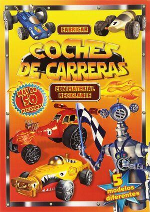 FABRICAR COCHES DE CARRERAS CON MATERIAL RECICLABLE