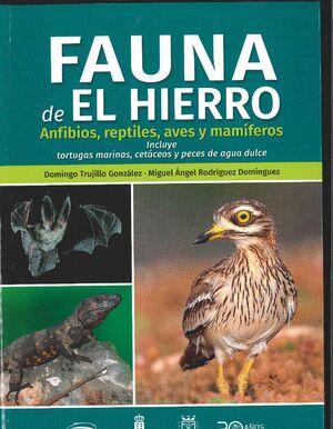 FAUNA DEL HIERRO ANFIBIOS,REPTILES, AVES Y MAMIFEROS