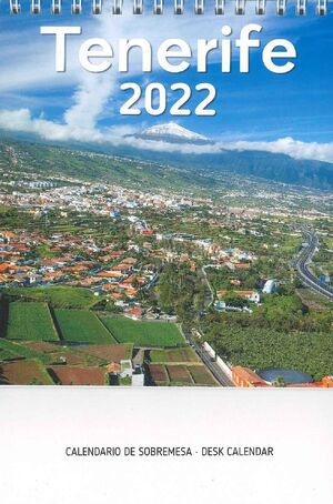 CALENDARIO TENERIFE 2022 (SOBREMESA)