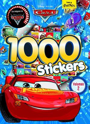 CARS. 1000 STICKERS. VOLUMEN 2