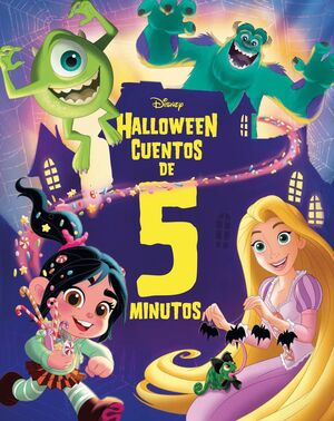 DISNEY. HALLOWEEN. CUENTOS DE 5 MINUTOS