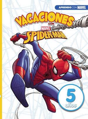 VACACIONES CON SPIDERMAN. 5 AÑOS (APRENDO CON MARVEL)