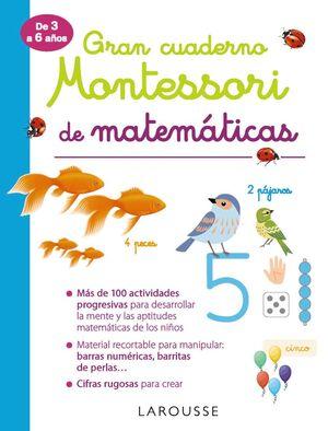 GRAN CUADERNO MONTESSORI DE MATEMATICAS