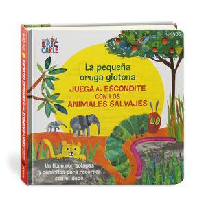 LA PEQUEÑA ORUGA GLOTONA JUEGA AL ESCONDITE CON ANIMALES SAL