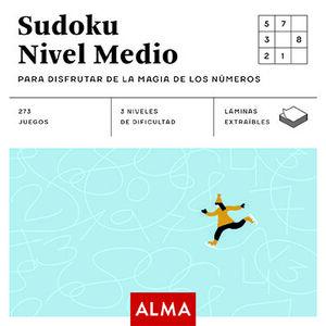 SUDOKU NIVEL MEDIO PARA DISFRUTAR DE LA MAGIA DE LOS NÚMEROS