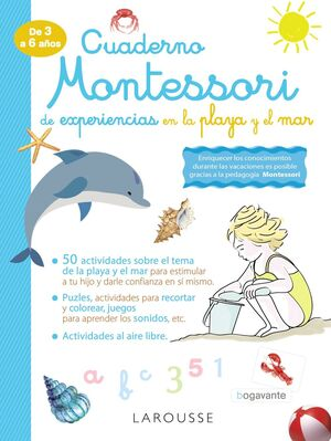 CUADERNO MONTESSORI EXPERIENCIAS PLAYA Y EL MAR