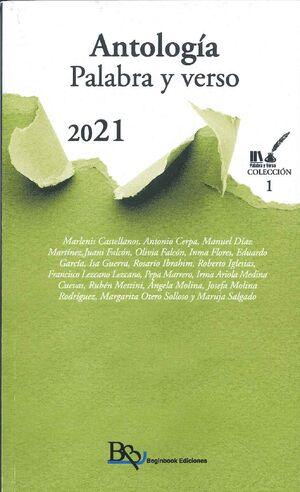 ANTOLOGÍA. PALABRA Y VERSO 2021