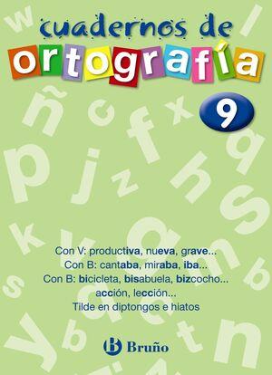 CUADERNO DE ORTOGRAFÍA 9
