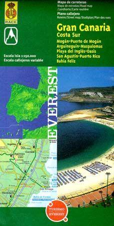 MAPA PROVINCIAL DE GRAN CANARIA COSTA SUR
