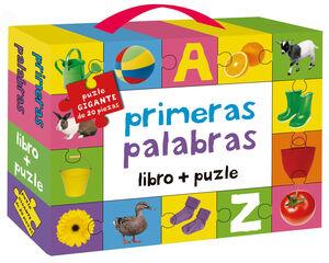 PRIMERAS PALABRAS: LIBRO + PUZLE